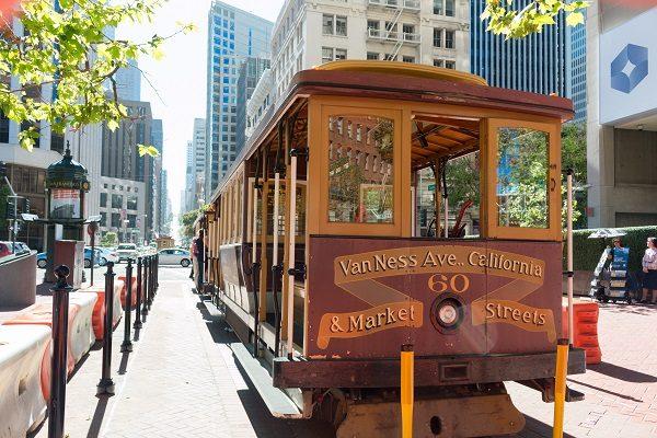 Cable Car, bondinho de São Francisco