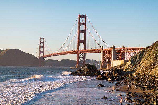 Golden Gate, em São Francisco