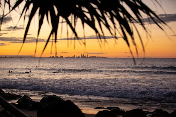 Praia de Gold Coast