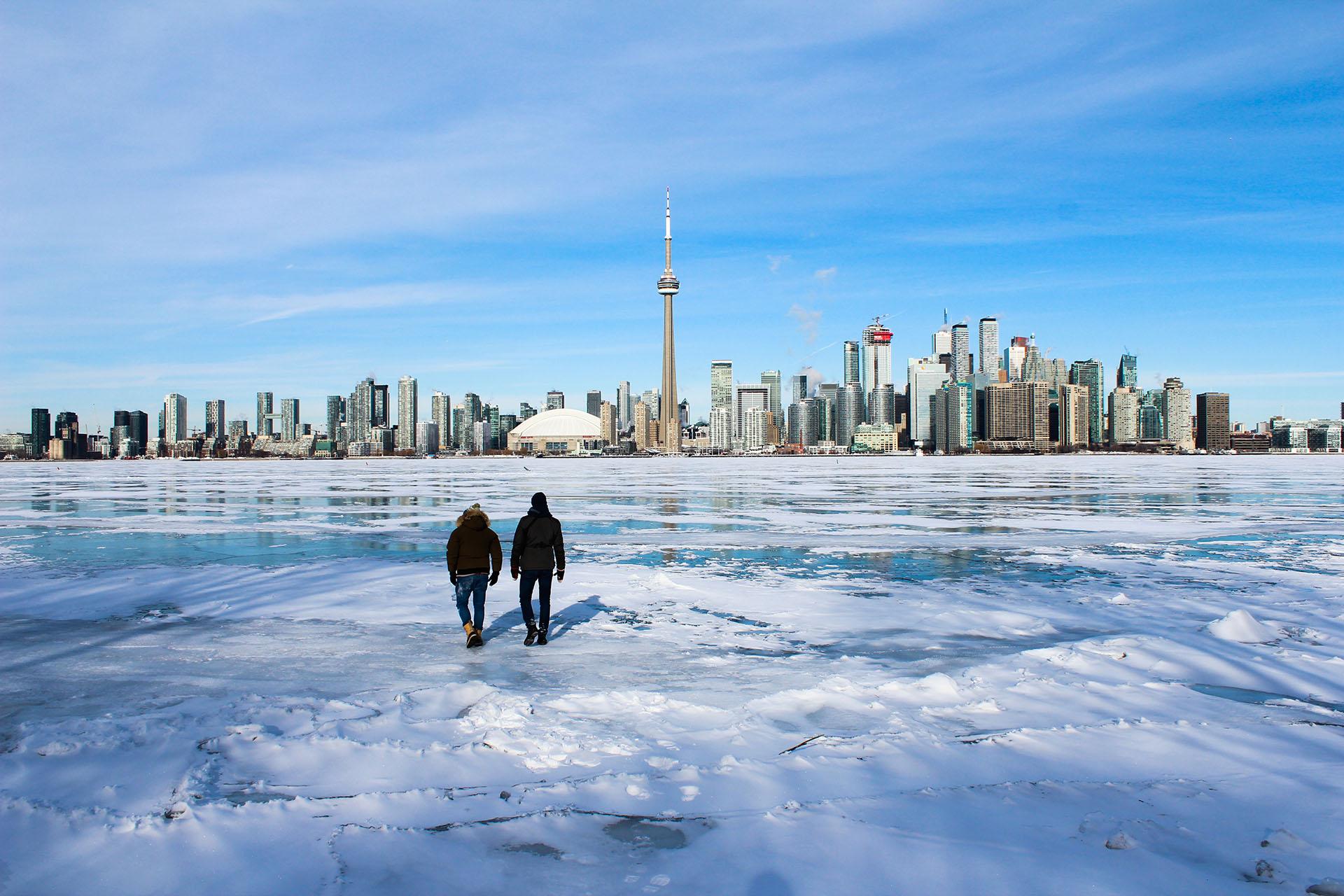 Intercâmbio em Toronto, Canadá, durante o inverno