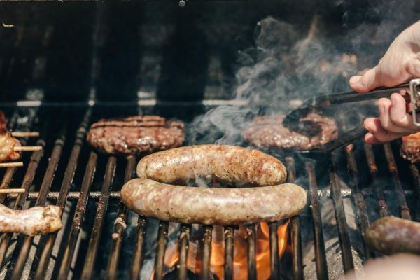 Snags on the barbie Melbourne English school