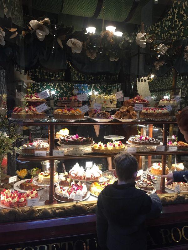 Cake Display Hopetoun Tea Room