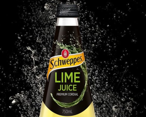 Schweppes lime juice cordial