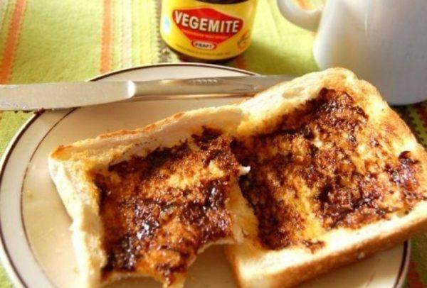 Vegemite comfort food